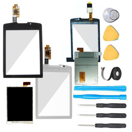 Blackberry Torch Screen Replacement+  LCD  + Touch Digitizer Premium Repair Kit - Black or White