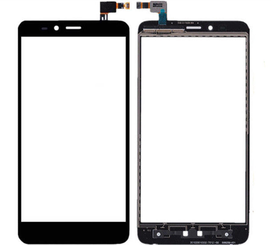"ZTE Blade X Max Glass Screen Replacement + Touch Digitizer Premium Repair Kit Z983 6.0"" - Black"