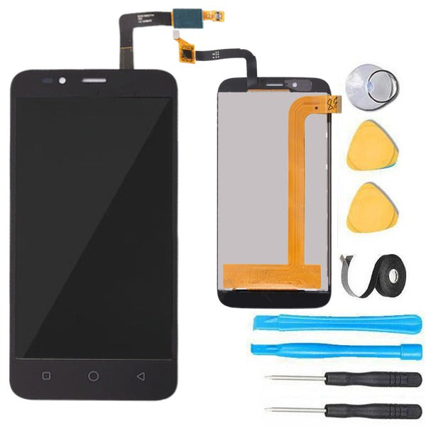 Coolpad Defiant Screen Replacement+ LCD + Touch Digitizer Premium Repair  Kit 3632A - Black