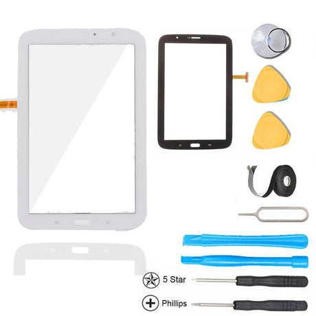 Samsung Galaxy Note 8.0 Glass and Touch Screen Digitizer Replacement Premium Repair Kit N5110- White