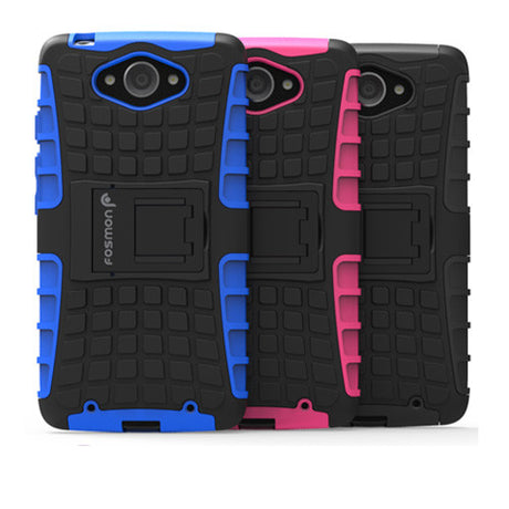 Rugged Armor Protective Hard Case Cover - Motorola Droid Turbo