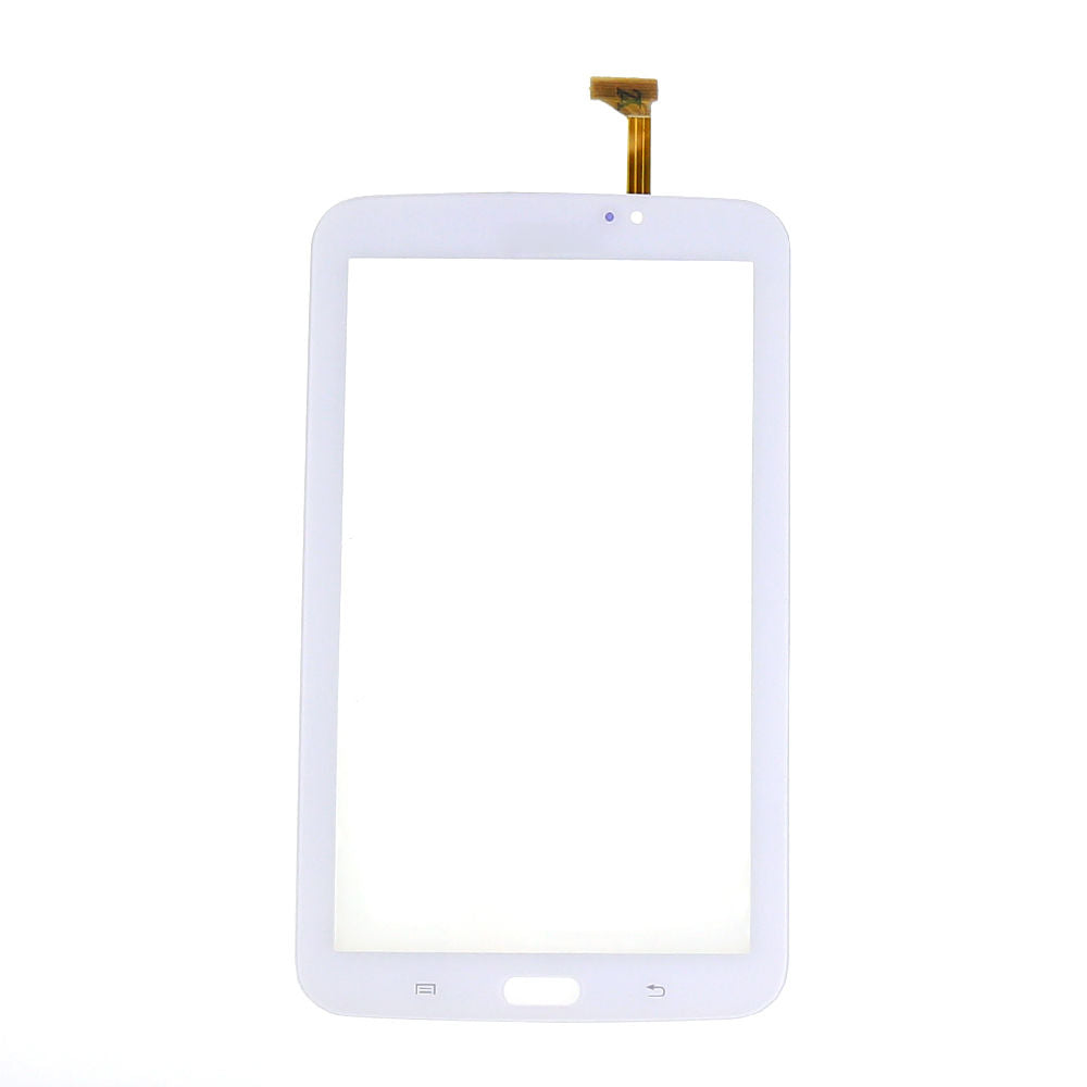 "Samsung Galaxy Tab 3 (7"") Glass Screen and Touch Digitizer Replacement Premium Repair Kit (Wifi Version No Speaker hole) - White"