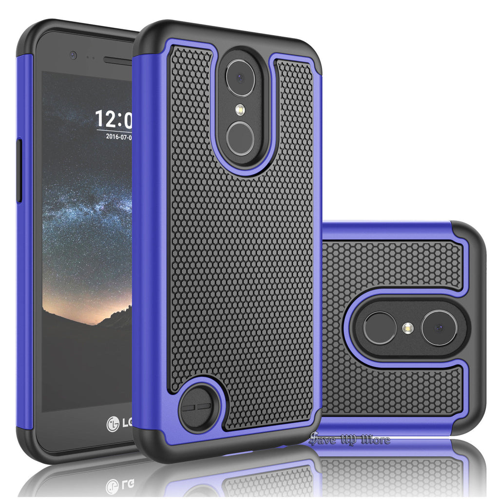 low priced ff9ed 82ec1 LG Stylo 3 Rugged Armor Hard Case Cover