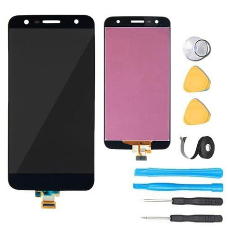 LG Fiesta 2 Screen Replacement LCD + Touch Digitizer Premium Repair Kit L163BL L164VL- Black