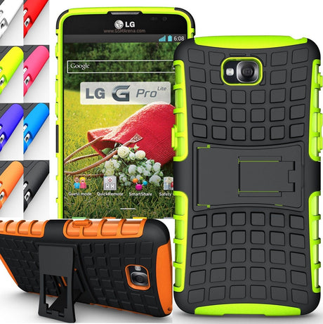 Rugged Armor Protective Hard Case Cover - LG G Pro Lite
