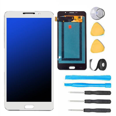 Samsung Galaxy A9 Screen Replacement LCD and Touch Digitizer Premium Repair Kit - White
