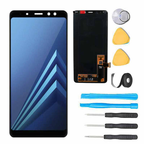 Samsung Galaxy A8 Plus Screen Replacement Glass LCD Digitizer Repair Kit A730 2018