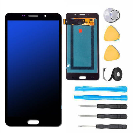 Samsung Galaxy A9 Screen Replacement LCD and Touch Digitizer Premium Repair Kit - Black