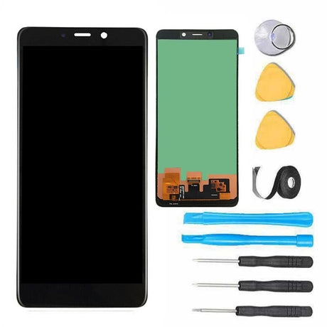 Samsung Galaxy A9 A920 2018 Screen Replacement LCD and Touch Digitizer Premium Repair Kit - Black