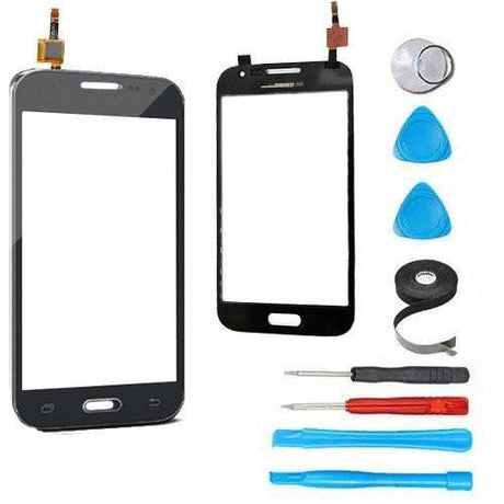 Samsung Galaxy Avant Glass Screen + Touch Digitizer Replacement Premium Repair Kit G386T - Black