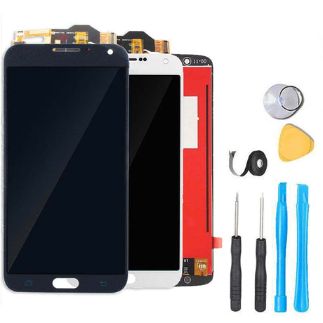 Samsung Galaxy E7 Screen Replacement LCD and Digitizer Premium Repair Kit E7000 | E700 | E700F | E700H | E700M - Black or White