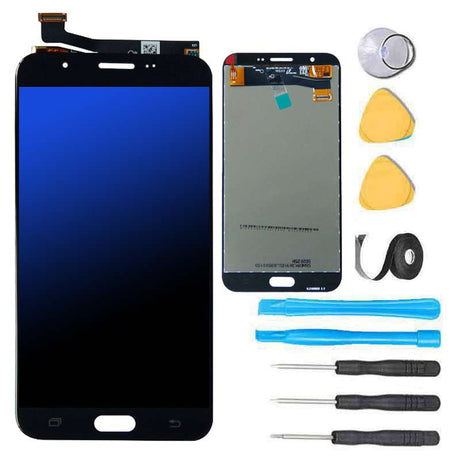 Samsung Galaxy J7 J700 Screen Replacement and Digitizer Premium Repair Kit 2015 Black