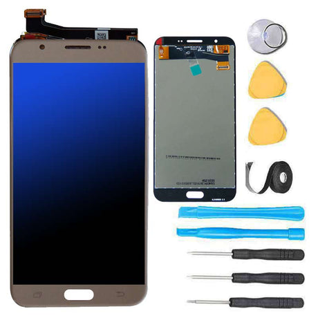 Samsung Galaxy J7 J700 Screen Replacement and Digitizer Premium Repair Kit 2015 Gold