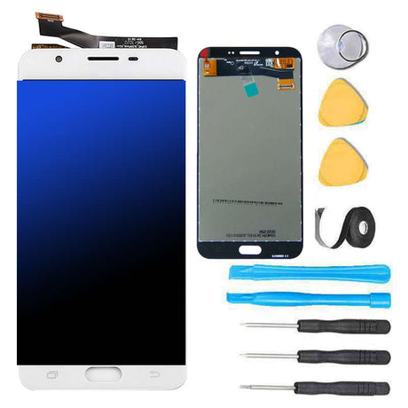 Samsung Galaxy J7 J700 Screen Replacement and Digitizer Premium Repair Kit 2015 White