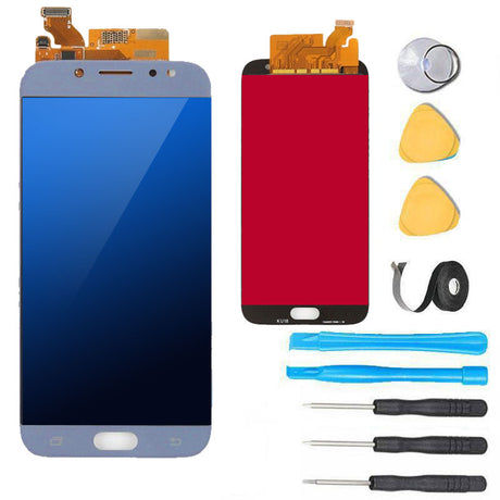 Samsung Galaxy J7 Pro Screen Replacement LCD Repair Kit 2017 J730 - Blue