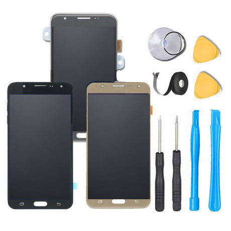 Samsung Galaxy J7 LCD Screen Replacement and Digitizer Assembly Premium Repair Kit Perx Prime Sky Pro  J700 J727
