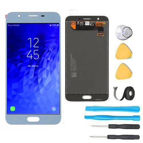 Samsung Galaxy J7 Refine Screen Replacement LCD and Digitizer Premium Repair Kit 2018 J737P - Blue