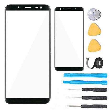 Galaxy J8 Glass Screen replacement Premium Repair kit J810 J800