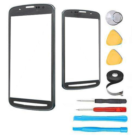 Samsung Galaxy S4 Active Glass Screen Replacement Premium Repair Kit - Gray Black