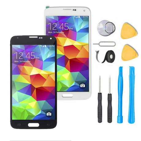 Samsung Galaxy S5 Mini Screen Replacement + LCD + Touch Digitizer Assembly Premium Repair Kit - Black or White