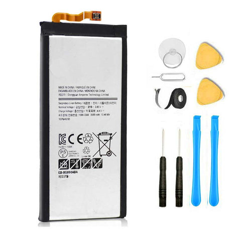 Samsung Galaxy S6 Active Battery Replacement Premium Repair Kit + Tools G890 | G890A