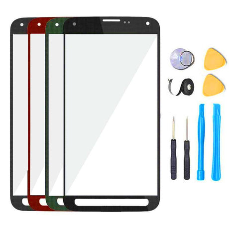 Galaxy S6 Active Glass Screen Replacement Premium Repair Kit G890 | G890A - Black, Gray, Blue, White