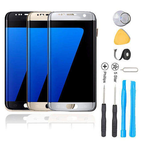 Samsung Galaxy S6 Screen Replacement + LCD + Touch Digitizer Assembly Premium Repair Kit