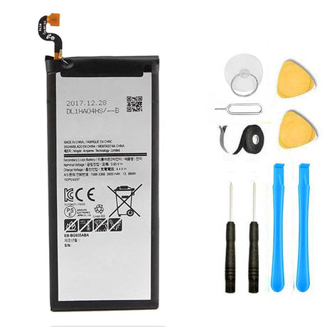 Galaxy S7 Edge Battery Replacement Premium Repair Kit + Tools G930