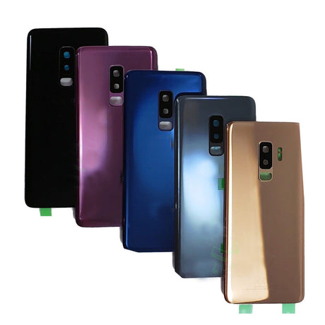 Samsung Galaxy S9 Replacement Back Glass Battery Cover - Black, Silver, Gold, Purple