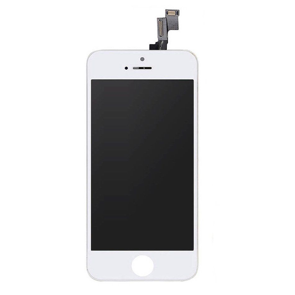 iPhone SE 1st Gen Screen Replacement LCD and Digitizer Premium Repair Kit - Easy Repair  - White