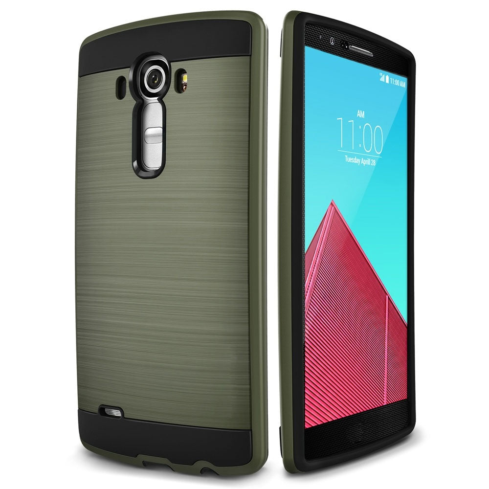 Slim Brushed Protective Hard Case Cover - LG G5