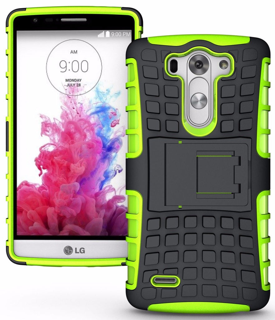 Rugged Armor Protective Case Cover - LG G2 | LG G3 | LG G4