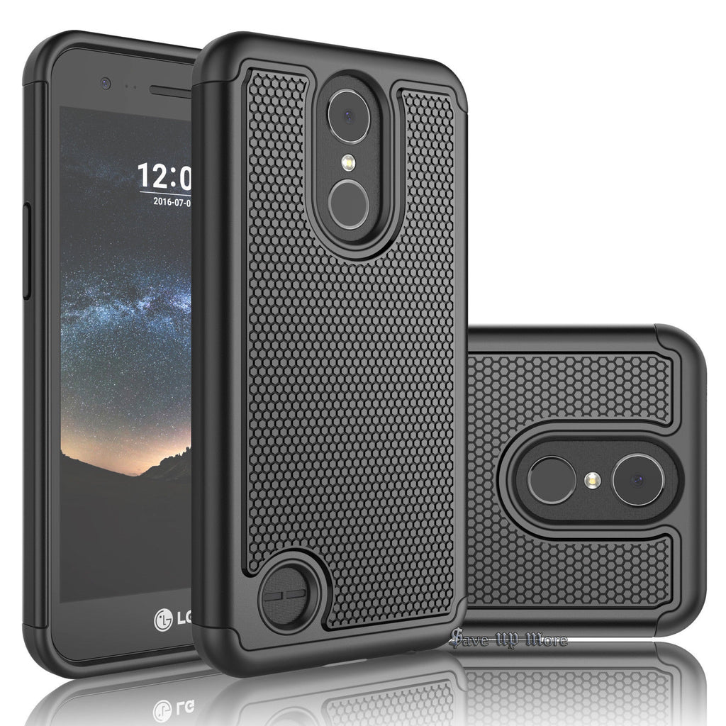 Rugged Armor Hard Case Cover - LG K20 Plus