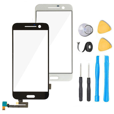HTC One M10 Glass Screen Replacement parts plus tools