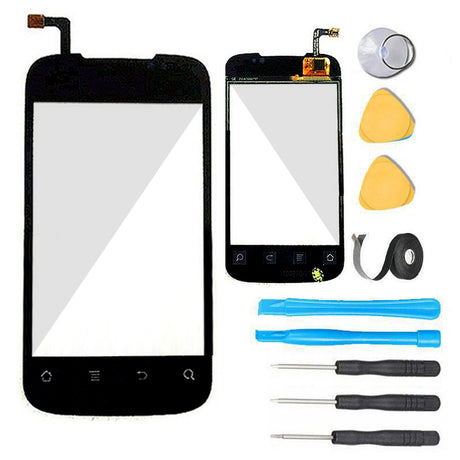 Huawei Ascend 2 Glass Screen Replacement parts plus tools