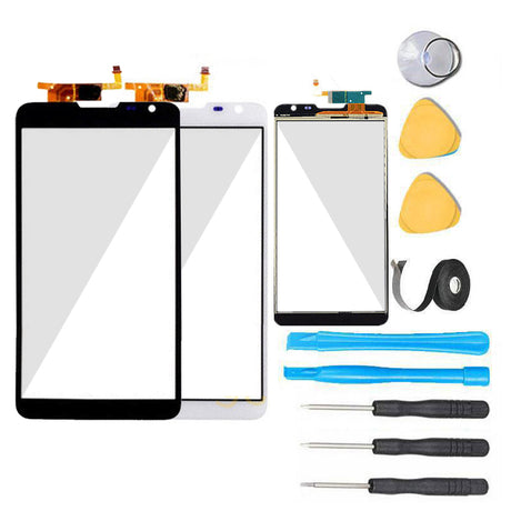 Huawei Ascend Mate 2 Glass Screen Replacement parts plus tools
