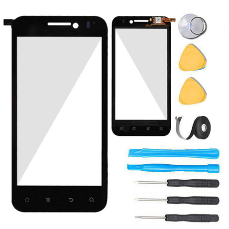 Huawei Mercury Glass Screen Replacement parts plus tools