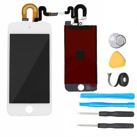 iPod Touch 6 LCD Screen Replacement and Digitizer Display Premium Repair Kit - White