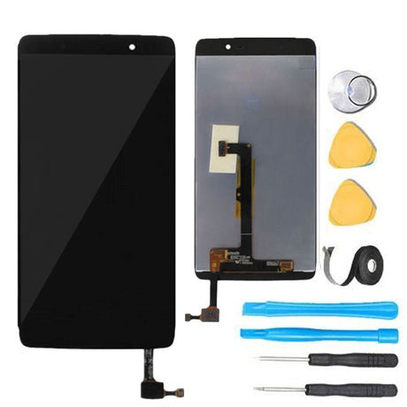 Alcatel One Touch Idol 4 Screen Replacement LCD and Digitizer Premium Repair Kit - Black