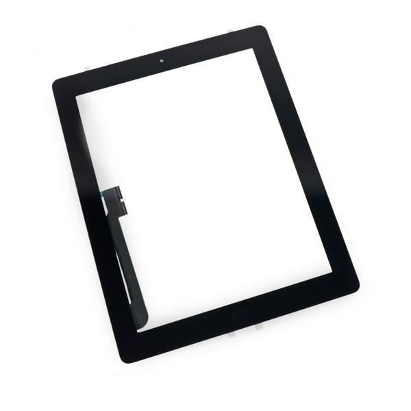 iPad 4 Glass Screen Digitizer Replacement Premium Repair Kit - Black