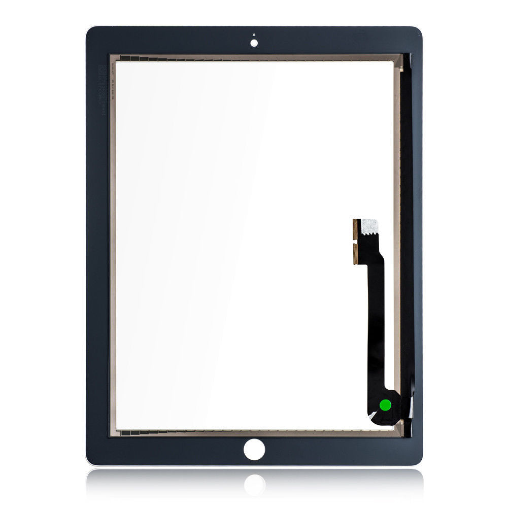 iPad 3 Screen Replacement Glass + Touch Digitizer Premium Repair Kit - Black or White