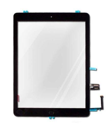 iPad 6 6th Screen Replacement Glass + Touch Digitizer Premium Repair Kit 2018 A1893 A1954 - Black or White