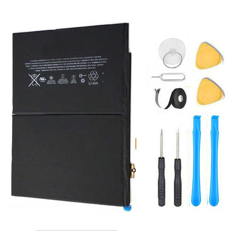 "iPad 6 (6th Gen 2018 9.7"") Battery Replacement Kit + Tools + Video Instructions"