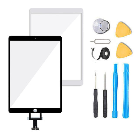 LCD Not Include Black Compatible with IPad Pro 10.5 Touch Screen Digitizer Glass Replacement,for Pro 10.5 A1701 A1709 Touch Display Panel Repair Parts Kit,with Tempered Glass+Tools