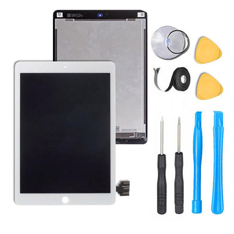"iPad Pro 12.9 1st Gen Screen Replacement LCD and Touch Digitizer Premium Repair Kit 12.9""  REQUIRES SOLDERING- White"