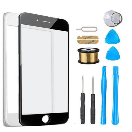 iPhone 8 Glass Screen Replacement Premium Repair Kit - Black or White