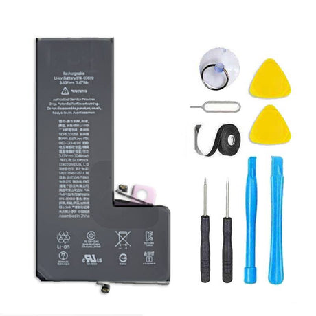 iPhone 11 Pro Max Battery Replacement with Flex Cable + Tools + Adhesive