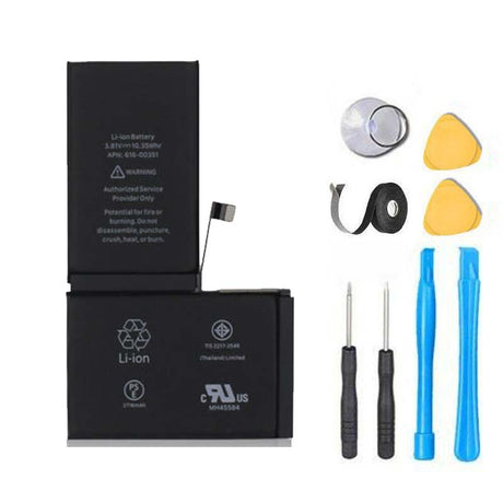 iPhone X Battery Replacement Premium Repair Kit  - Black