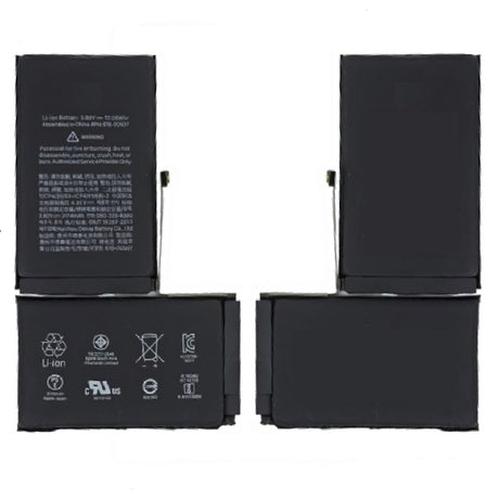 iPhone X Battery Replacement with Flex Cable - 2716 mAh