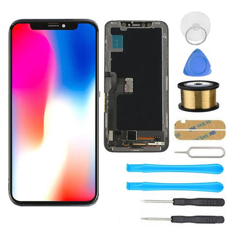iPhone XS Max Screen Replacement LCD + Digitizer Premium Repair Kit